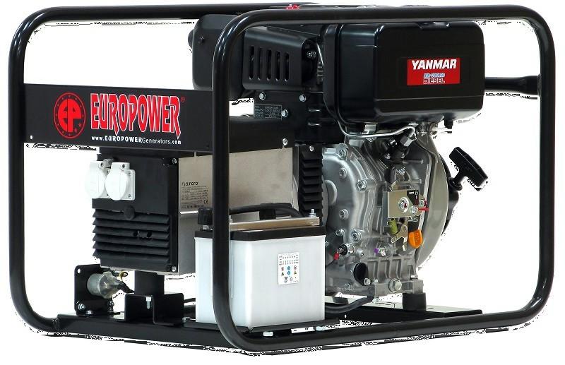 Генератор дизельный Europower EP 6000 TDE в Богородицке