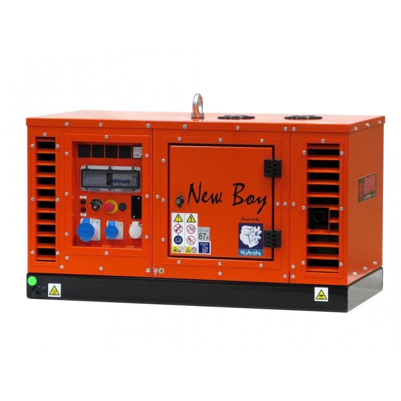 Генератор дизельный Europower EPS 103 DE/58 серия NEW BOY в Богородицке